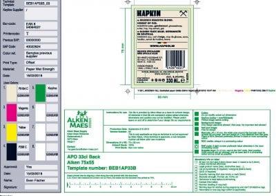 11321_40022924 BEL Backlabel paper Bottle 330ml Hapkin (1)