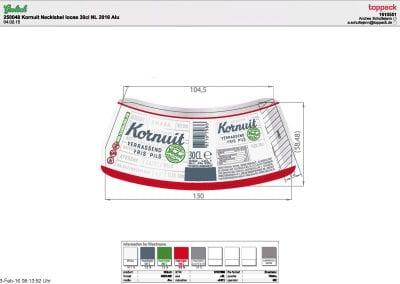1610551 250048 Etiket Grolsch Kornuit Necklabel loose 30cl NL (1)