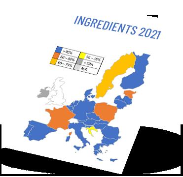 Beer labelling - Ingredients 2021