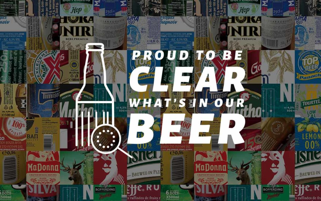 Brewers back better labelling on International Day for the Universal Access to Information (IDUAI)
